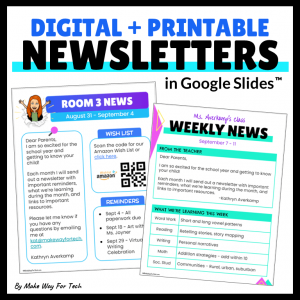 Digital Newsletters for the Entire Year
