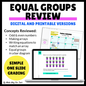Equal Groups Review