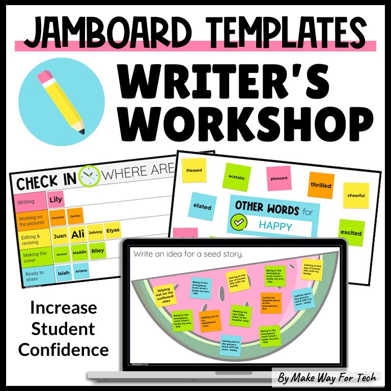 Google Jamboard Template Writing