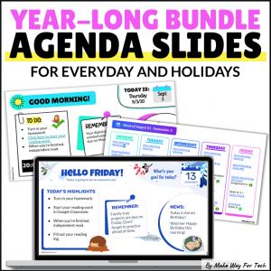 Holiday Google Slides Agenda Templates