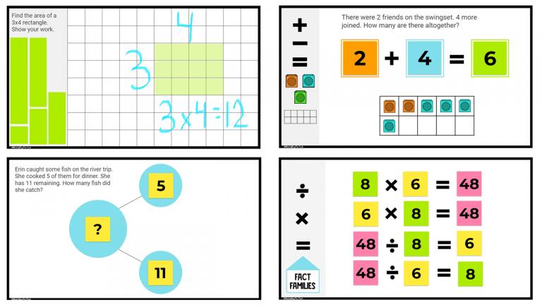 Math Jamboards