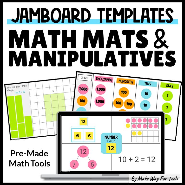 Google Jamboard Template Math