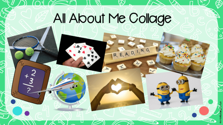 All About Me Collage