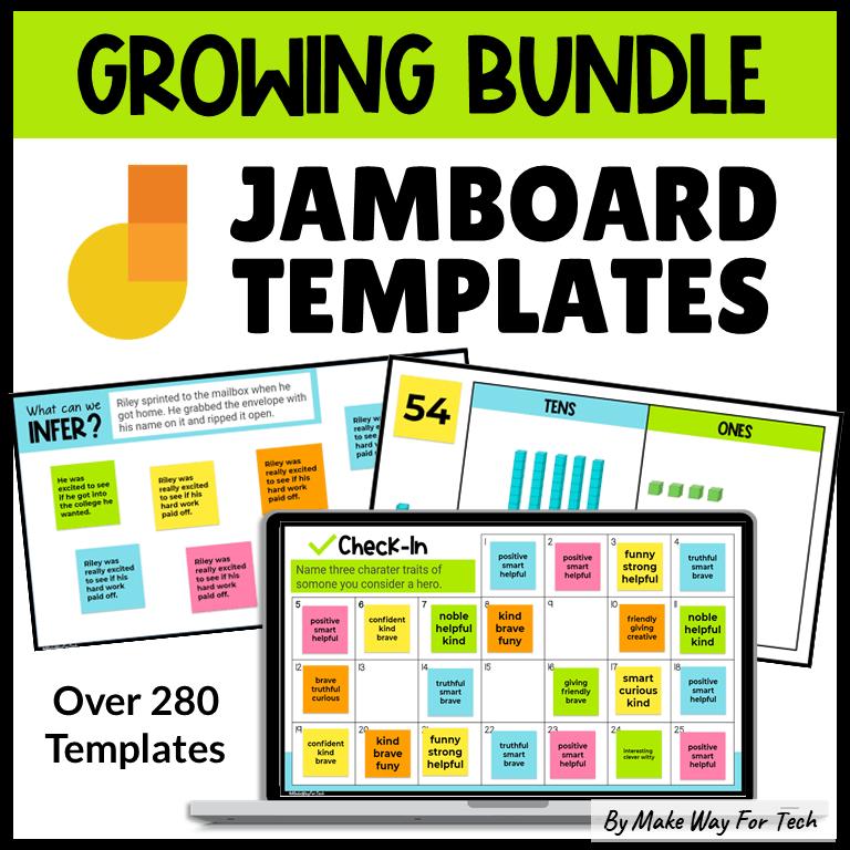 Google Jamboard Templates for Teachers